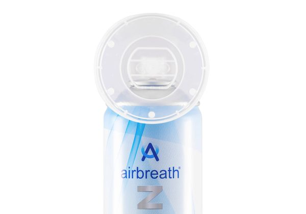 airbreath® oxygen – Bottled oxygen, lightweight and portable. Natural energy and recovery for all ages